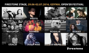 Open'er ogłosił line-up na Firestone Stage