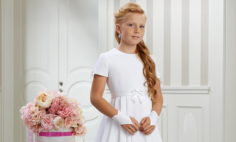 3c811c6441 Sukienki komunijne - na bogato czy skromnie